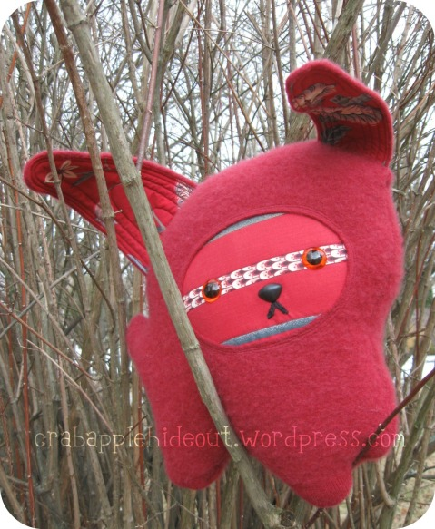 Red Love Bunny - The Second Bunny of 2011